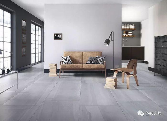 600x1200mm瓷砖这样铺贴,一千个客厅铺出一千种美丽